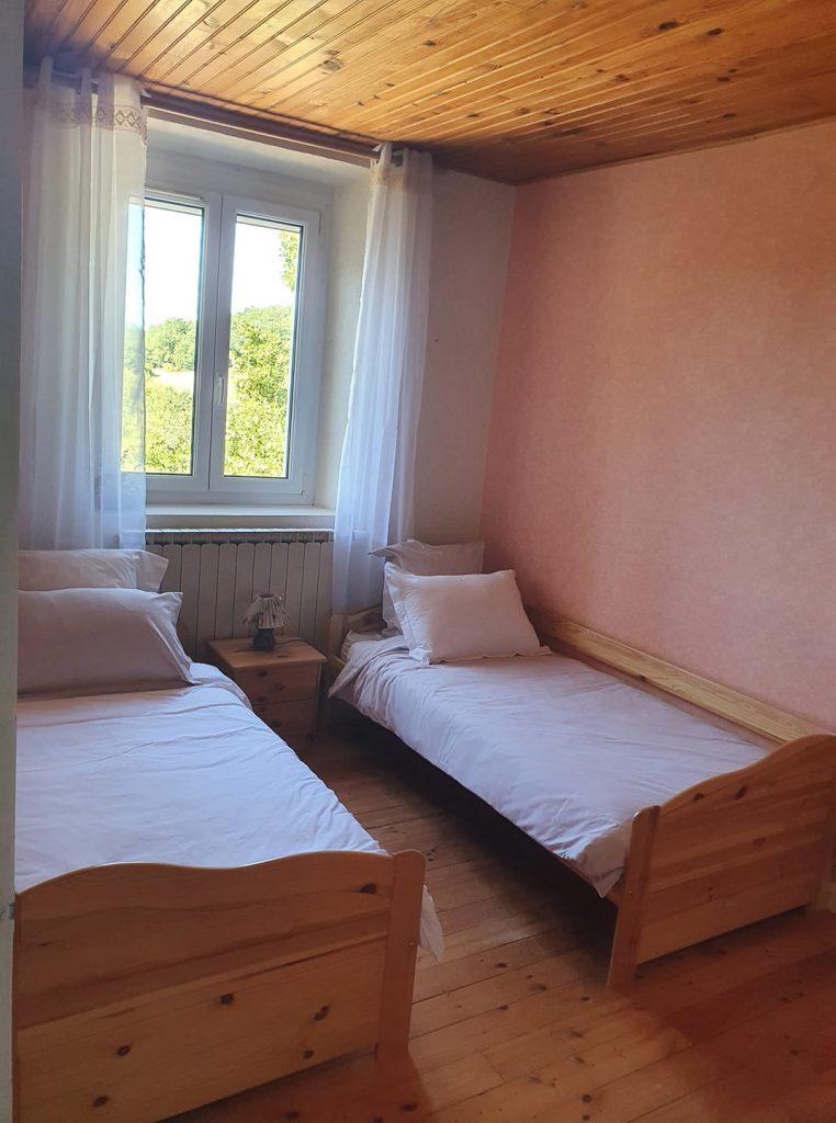 Chambre deux lits simples Vercors