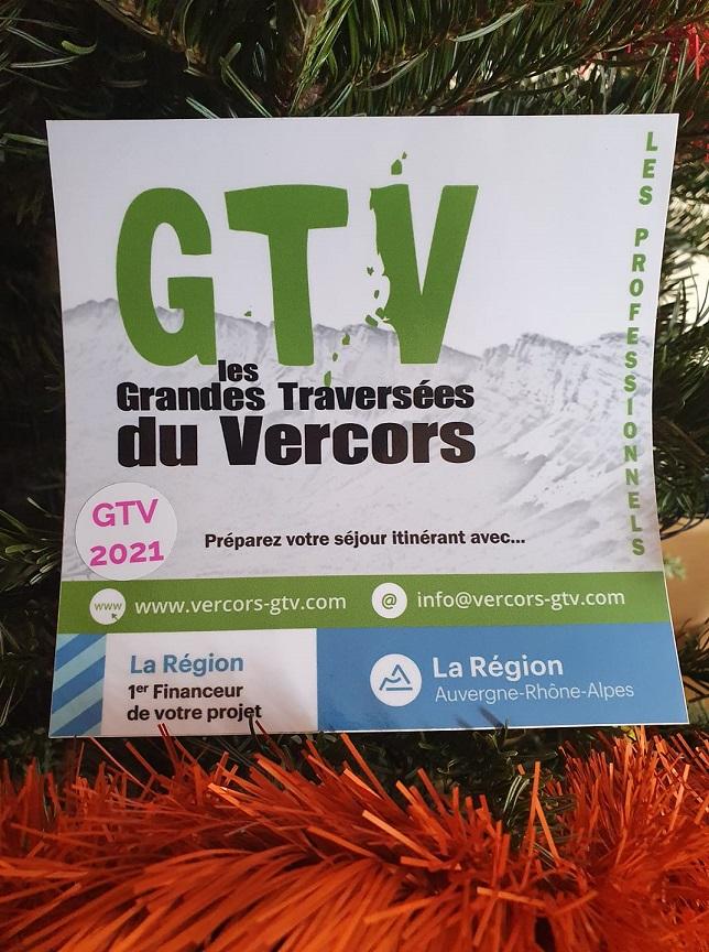 Adhésion 2021 à GTV - Les Grandes traversées du Vercors