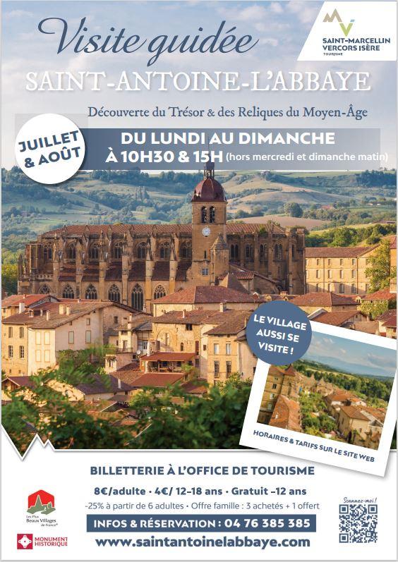 Visites guidées Saint-Antoine-L'Abbaye
